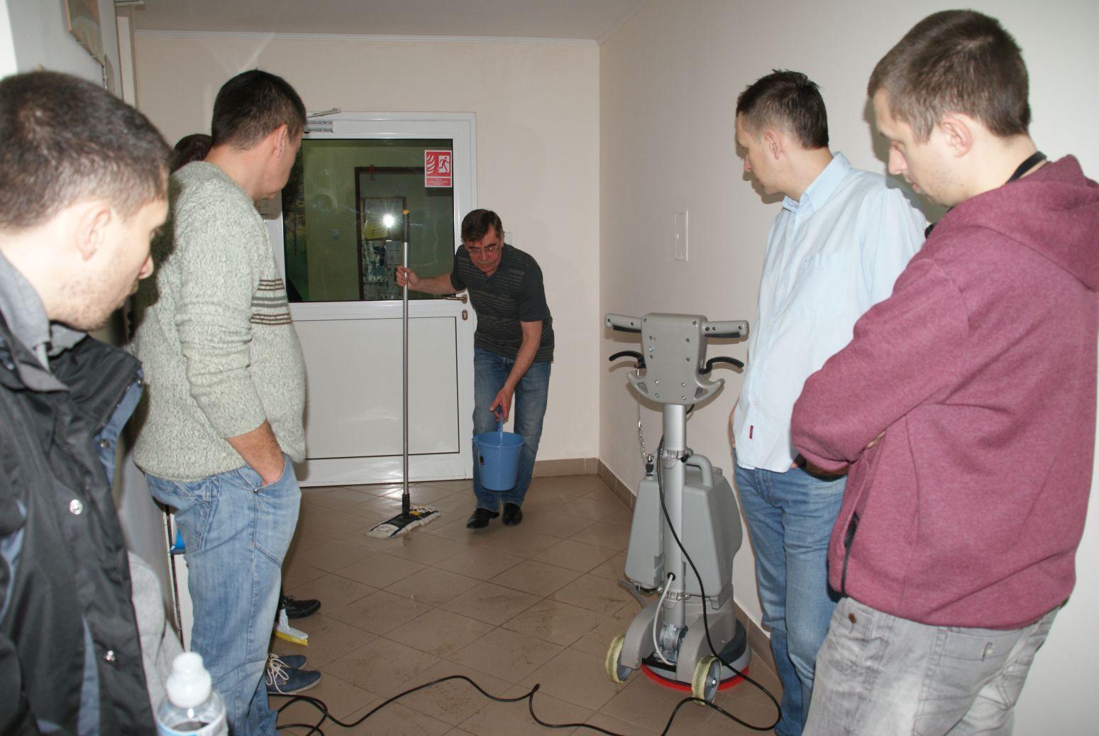 szkolenie ze sprzątania